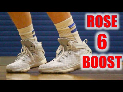a981c9d2509 Adidas D Rose 6 Performance Review  WearTesters - YouTube