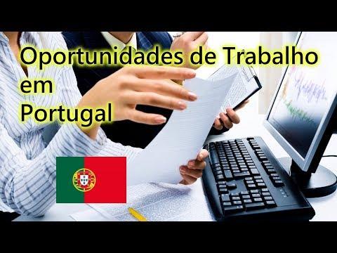 OPORTUNIDADES DE TRABALHO EM PORTUGAL