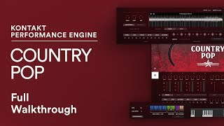 COUNTRY POP KONTAKT | Country Songwriting Kontakt Library for Music Production