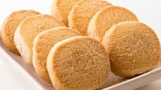 3 incredients bakery biscuits recipe butter cookies at home easy biscuits recipe in otg