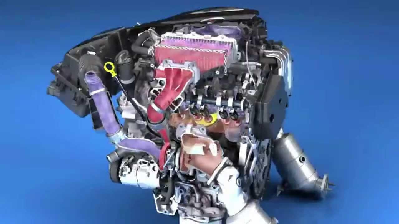 Cadillac V6 Twin Turbo 3 0 L engine - YouTube