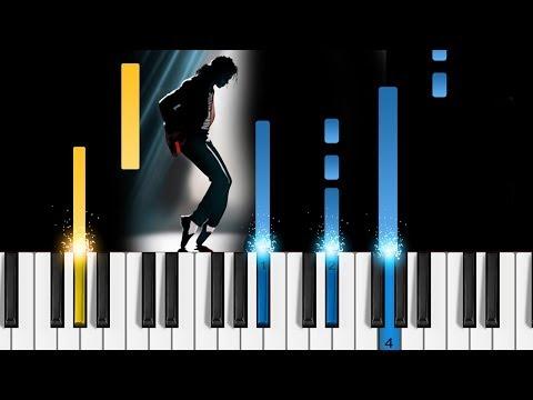 Michael Jackson - Bad - EASY Piano Tutorial