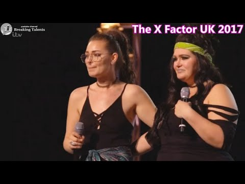X Factor UK 2017 Descendance -Mother Daughter Team Forced to Split Up by Judges -Group 10  -bootcamp