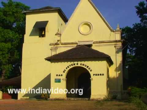 St. Peter's Church at Old Goa