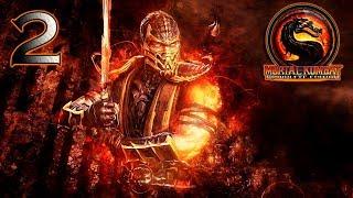 Mortal Kombat 9: Komplete Edition прохождение на геймпаде часть 2 История Скорпиона