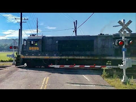 Cincinnati Eastern RR Video Sent By Fan, Includes 2 NS Cabooses On Local  Freight Trains!