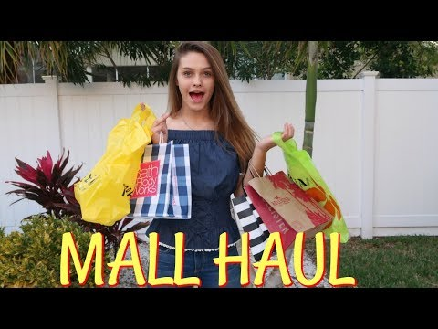 SPENDING EMMA'S BIRTHDAY MONEY MALL SHOPPING HAUL! FLORIDA STATE FAIR!