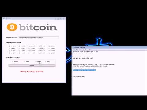 Bitcoin Hack 2017    Working 100% Bitcoin Generator