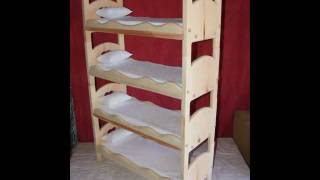 Just One Look - The Crafters Nook Doll Furniture & Stackable Doll Beds