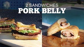 Smoked Pork Belly Sandwiches - 2 Ways | Green Mountain Pellet Grills