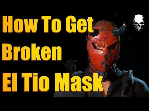 Ghost Recon Wildlands - How To Get The Broken El Tio Mask  (3 Grave And 3 Mine Locations)