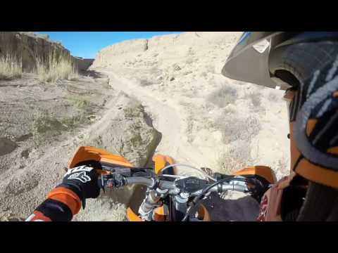 Southern- Rio Rancho NM Canyon Dirt Bike Ride