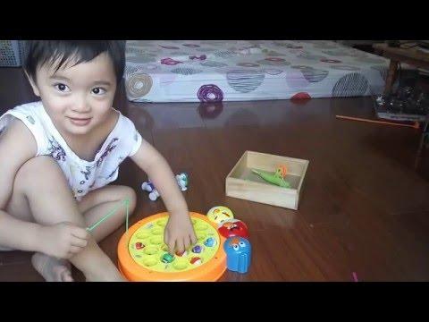 Let's Go Fishing Game! - Toy Playset & Disney Car Toys
