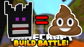 Minecraft BUILD BATTLE 'WORST BUILDER EVER?' #1 w/PrestonPlayz, Choco & Kenny