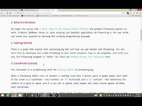 Beginning Programming Lesson 1