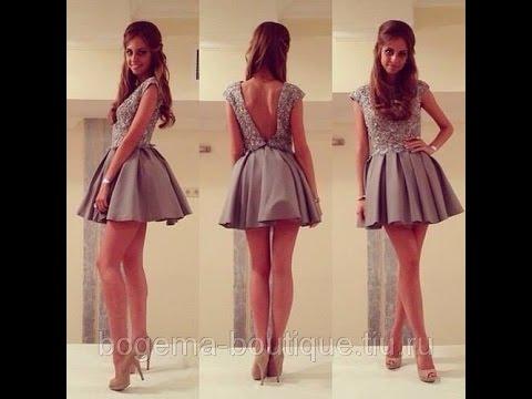 Пышное платье за час