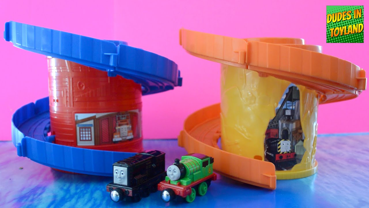 Thomas & Friends Take n Play Spiral Tower Tracks 托马斯小火车