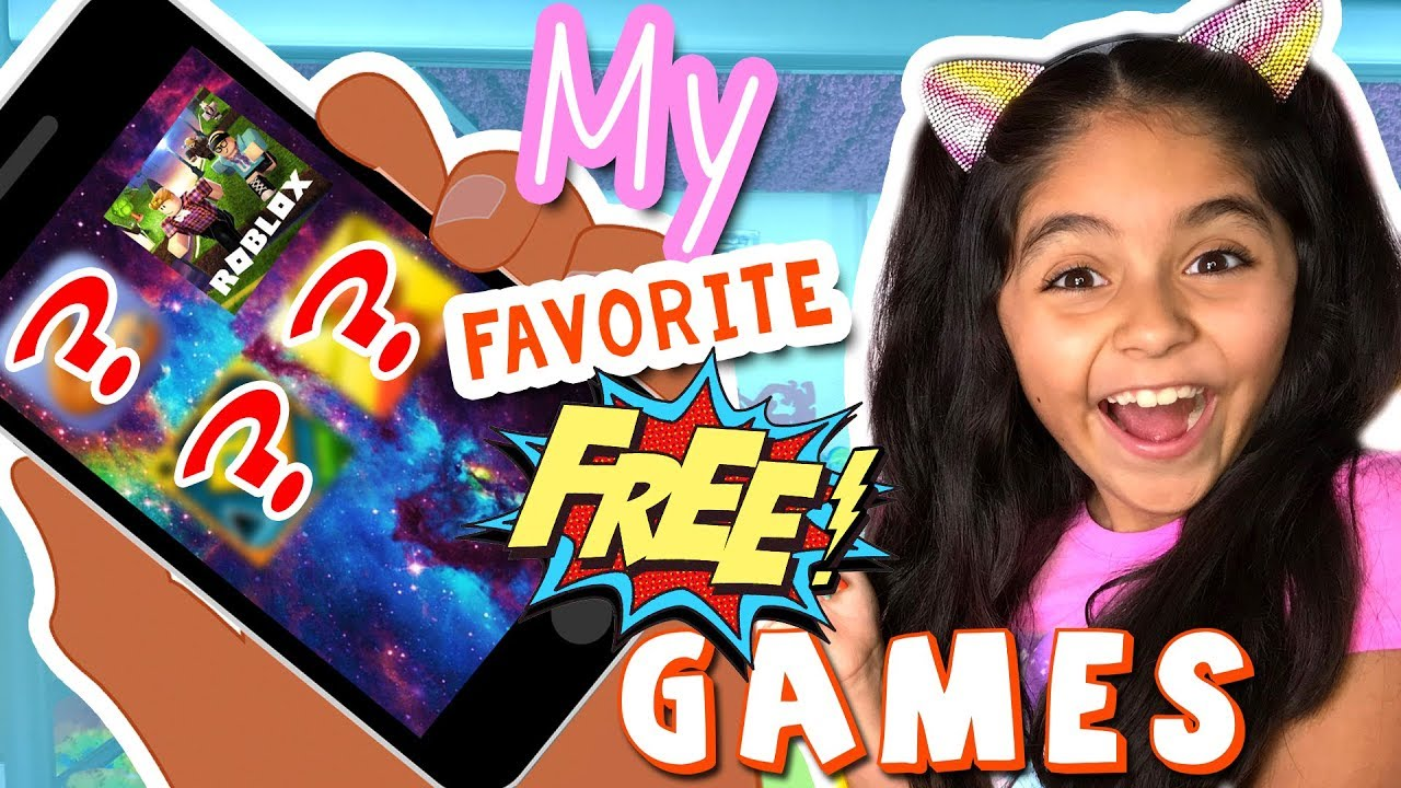 My Favorite Free Game Apps Lets Play Roblox And More The