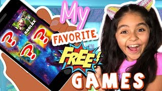 My Favorite Free Game Apps - Lets Play Roblox and more : The Evangeline Show // GEM Sisters
