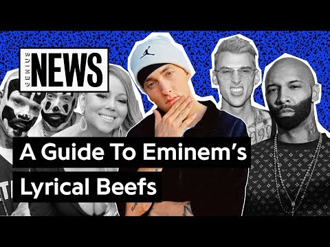 A Timeline Of Eminem's Lyrical Beefs | Genius News Mp3