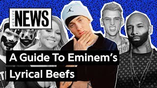 Download A Timeline Of Eminem's Lyrical Beefs | Genius News Mp3 and Videos