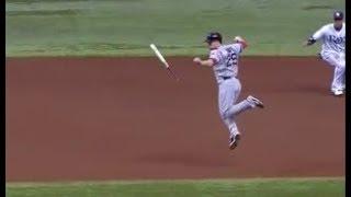 MLB Dodging Bats