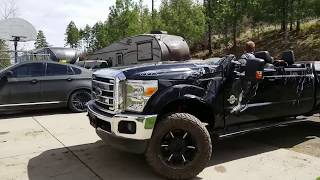 Rebuilding 2013 Ford F350 from Copart prt 2 | CONVERTIBLE