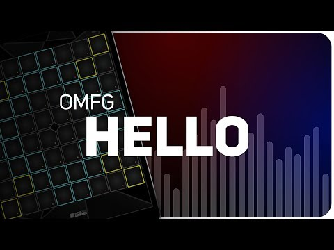 PLAYING HELLO - OMFG ON SUPER PADS LIGHTS - Launchpad - KIT HI