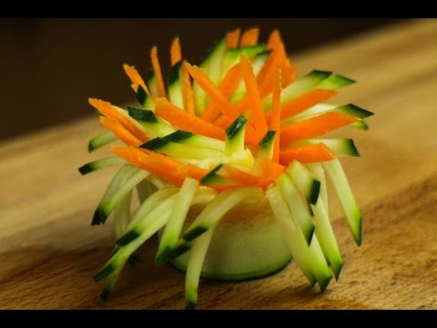 how to make carrot butterfly