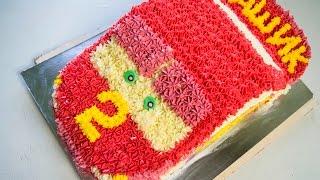 Торт машинка Часть 1