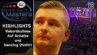 Rekordkulisse auf Schalke & dancing Dimitri Van den Bergh | German Darts Masters | Highlights | DAZN