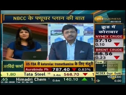 CMD, NBCC, Dr. Anoop Kumar Mittal in conversation with Zee Business.