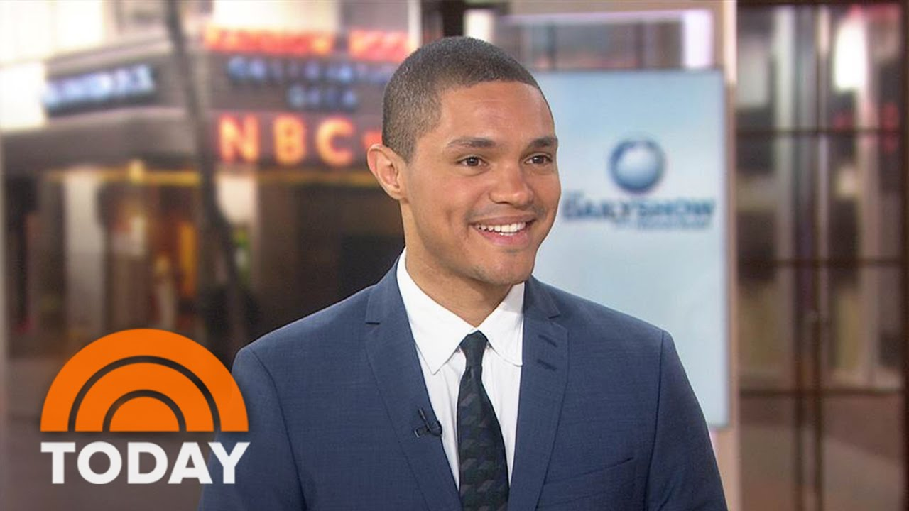 Trevor Noah: Part Of Me Is Panicking About Hosting 'The ...  Trevor Noah: Pa...