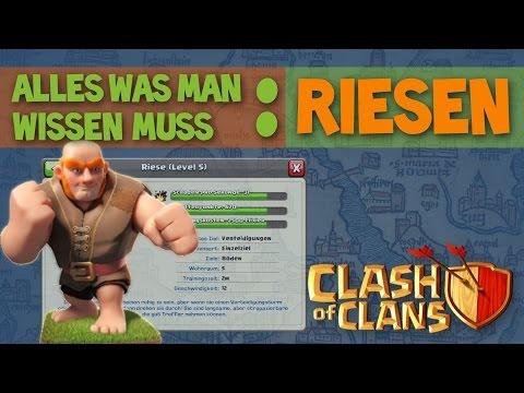 Clash of Clans ABC I Truppen: Riesen [Deutsch/German]
