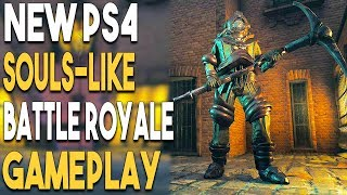 NEW PS4 SOULS Like Battle Royale GAMEPLAY and ANOTHER PSN SALE!