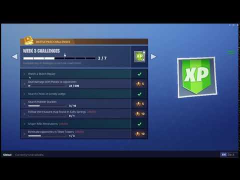 WATCH A MATCH REPLAY CHALLENGE FIXED! (Fortnite Battle Royale)