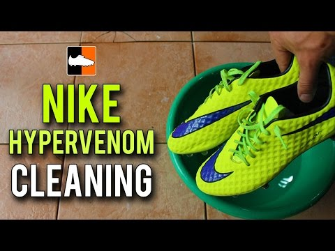 How to Clean the Nike Hypervenom Phantom - Intense Heat Edition