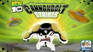 Ben 10: Cannonbolt Strikes - Escape the Alien Ship before it Explodes (Cartoon Network Games)