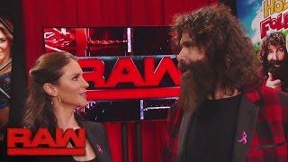 Mick Foley schlägt ein großes Match vor: Raw, 17. Oktober 2016