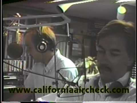 KGB-FM San Diego Berger and Prescott (with Chainsaw) 1987 California Aircheck Video