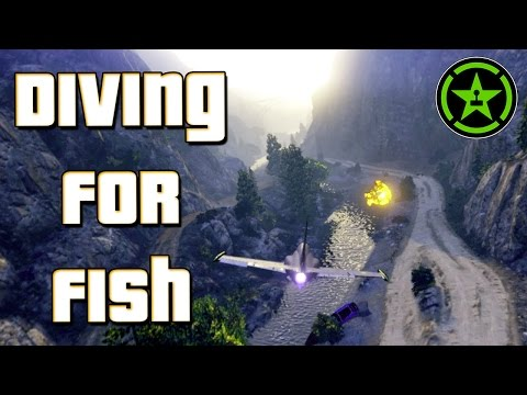 Things to Do In: GTA V - Diving for Fish