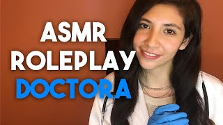 ASMR En Español - Doctora Cura Tus Heridas (Roleplay)