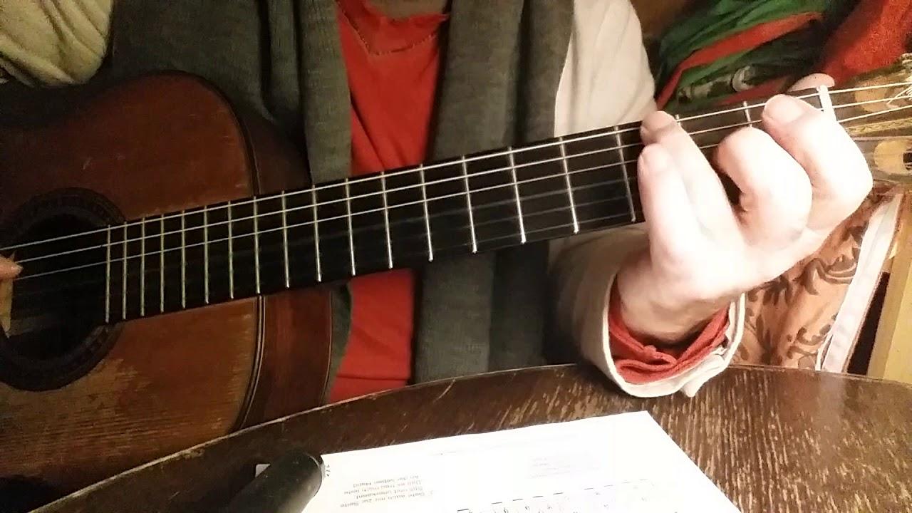 Alle Jahre wieder - Weihnachtslied - Gitarre - YouTube