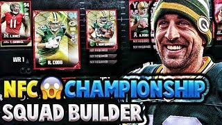 NFC CHAMPIONSHIP SQUAD BUILDER! FT. VICTIONARYHD! MADDEN 17 ULTIMATE TEAM