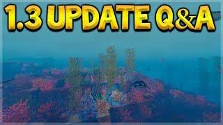 Minecraft Bedrock - UPDATE 1.3 Oceans Update & Better Modding Q&A (Better Together Update)