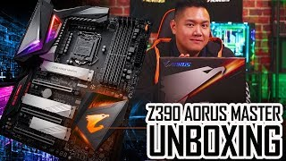 Z390 AORUS Motherboard | Unboxing & First Look