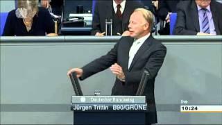 """""""Da meldet sich der Mario Barth der FDP"""" - Jürgen Trittin in Höchstform (+Zwischenrufe)"""
