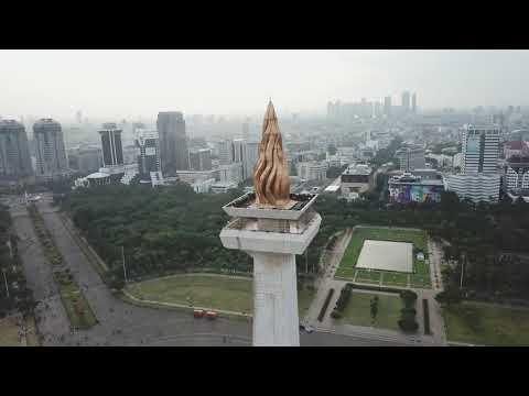 Monas Jakarta with Mavic Pro