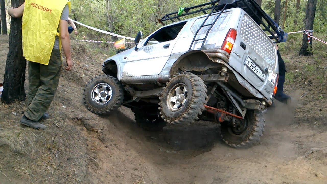 SUZUKI JIMNY Off Road Extreme - YouTube