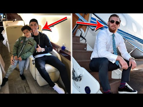 Most Expensive Private Jets Owned by Top Athletes !!